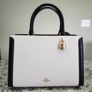 Coach Colorblock Zoe Carryall, BNWT!
